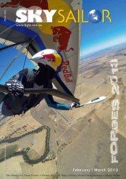 August/September - Hang Gliding Federation of Australia