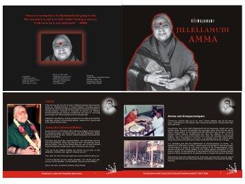 amma book kranti process - Sakala Poojalu