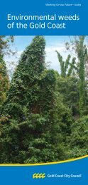 Environmental weeds of the Gold Coast - Gold Coast Parks