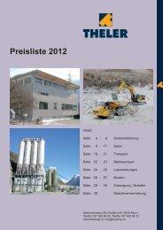 Preisliste 2012 (PDF) - CommuniGate Pro thelerag.ch Eingang