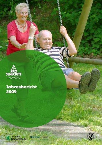Jahresberichte - Pro Senectute Thurgau - bei Pro Senectute Schweiz