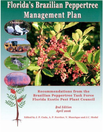 Florida's Brazilian Peppertree Management Plan - Integrated Pest ...