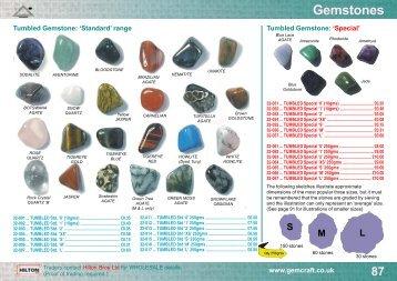 Gemstones - Manchester Minerals