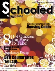 chooled Magazine for the student | by the student - Schooled ...