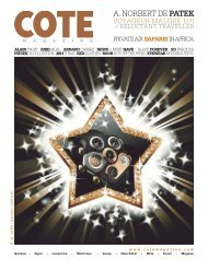A. NORBERT DE PATEK - Cote Magazine