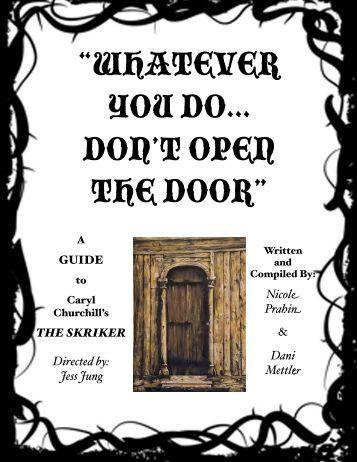 The Skriker Actor Packet