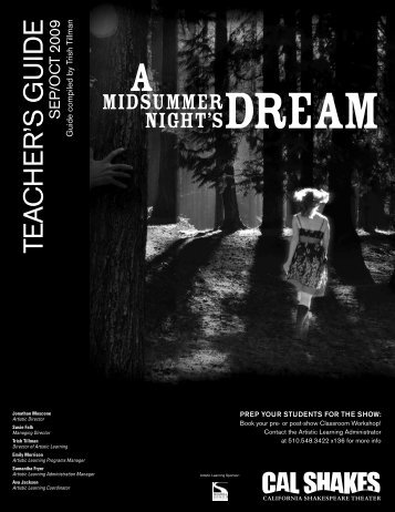 A Midsummer Night's Dream - California Shakespeare Theater