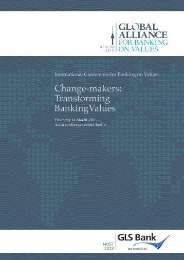Change-makers: Transforming BankingValues - Tomas Sedlacek