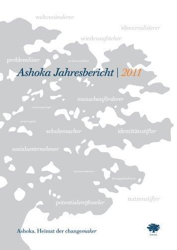 Ashoka Jahresbericht | 2011 - Ashoka Deutschland
