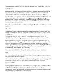 Changemaker sin strategi for 2010-2014 - Kirkens Nødhjelp