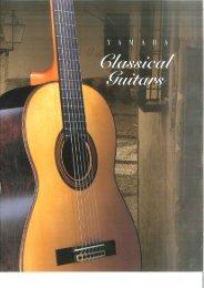 Yamaha Classical Guitar catalog 200? - Jedistar