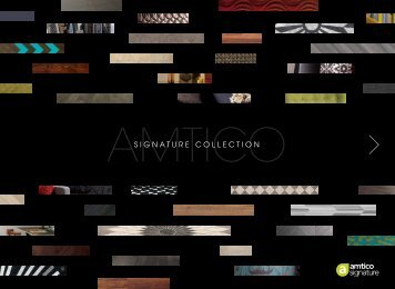 SIGNATURE COLLECTION - RIBA Product Selector