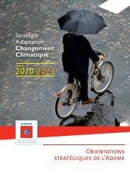 Stratégie Adaptation Changement Climatique - Ademe