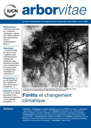 Forêts et changement climatique - IUCN
