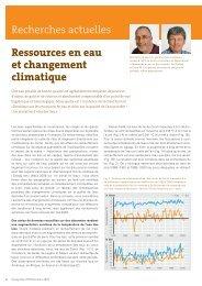 Eawag News 65f: Ressources en eau et changement climatique