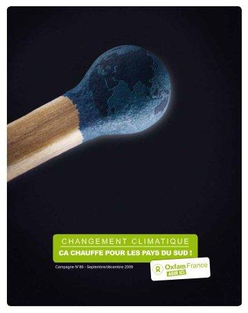 Changement climatique : ça chauffe pour les pays du - Oxfam France