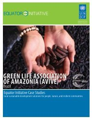 Green Life Association of Amazonia (AVIVE), Brazil - Equator Initiative