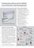 Einbruchmeldetechnik Spektrum der Sicherheit - minos ... - Seite 4