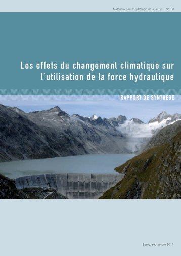 Les effets du changement climatique sur l'utilisation de la force ...