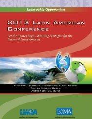 2013 Latin American Conference - LOMA