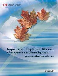 Impacts et adaptation liés aux changements climatiques : Impacts et ...