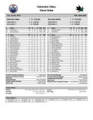 Game #35 - NHL.com