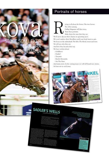 INEZ KARLSSON - Gallop Magazine