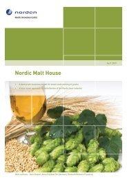 Nordic Malt House - Nordic Innovation