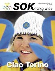 magasin - Sveriges Olympiska Kommitté