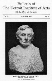 Volume VI, No. 1, October, 1924 - Detroit Area Library Network