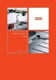 Catálogo completo de Grifería, Bachas y Accesorios