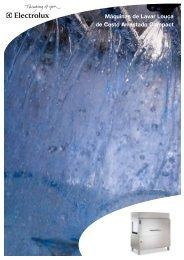 Máquinas de Lavar Louça de Cesto Arrastado Compact - Electrolux