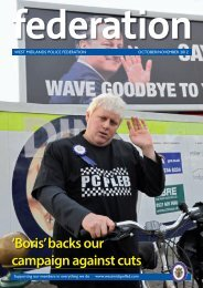 'Boris' backs our campaign against cuts - West Midlands Police ...