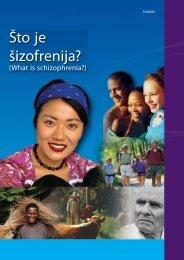 Što je šizofrenija?