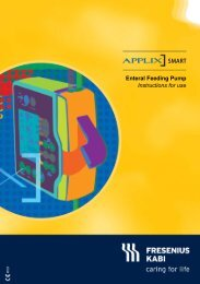 APPLIX Smart - Enteral Feeding Pump - Instructions for use