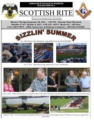 September 2012 SR Newsletter - Scottish Rite - Valley of Wilmington ...