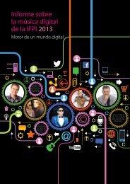 Informe sobre la música digital de la IFPI 2013