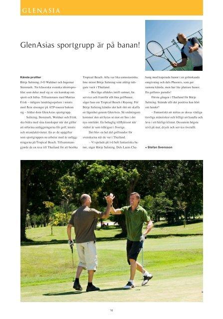 Stenmark och Salming guidar till bästa golfen
