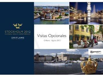 Visitas Opcionales en Estocolmo - Oriflame