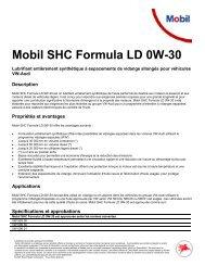 Mobil SHC Formula LD 0W-30 - Technomag AG