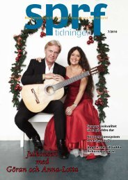 Julkonsert med Göran och Anna-Lotta - Sprf
