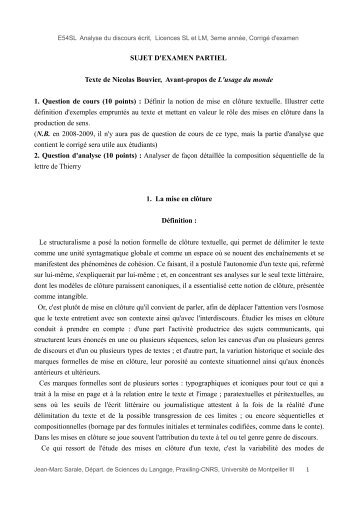 Nicolas Bouvier, Avant-propos de L'usage du monde - Atelier des ...