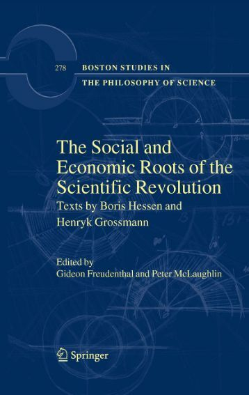 The Social and Economic Roots of the Scientific Revolution ... - Free