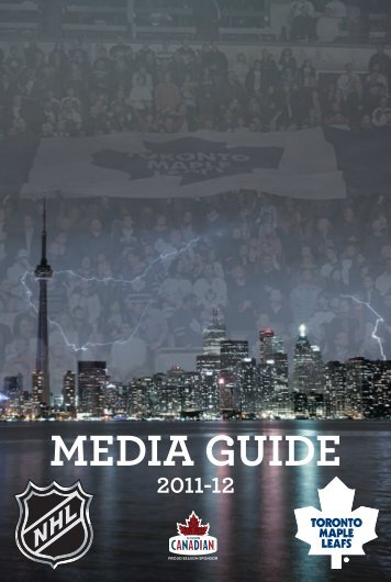 MEDIA GUIDE - Toronto Maple Leafs
