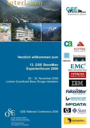 GSE StoreMan - Messmer The Brain House