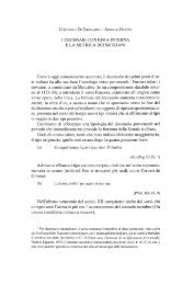 E LA METRICA DEI SICILIANI - Dipartimento di Filologia Moderna