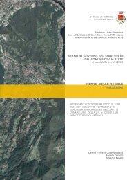 La relazione del Piano delle Regole - Comune di Galbiate