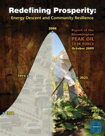 Peak Oil Task Force Report - City of Bloomington - State of Indiana