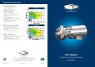 Hygienic Centrifugal Pump - Dixon Group Europe Ltd