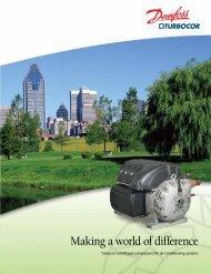 Danfoss Turbocor centrifugal compressors for air ... - First Service